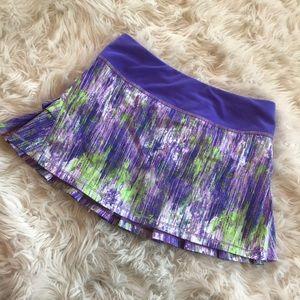 Ivivva (lululemon) girls skirt with shorts. Sz 10